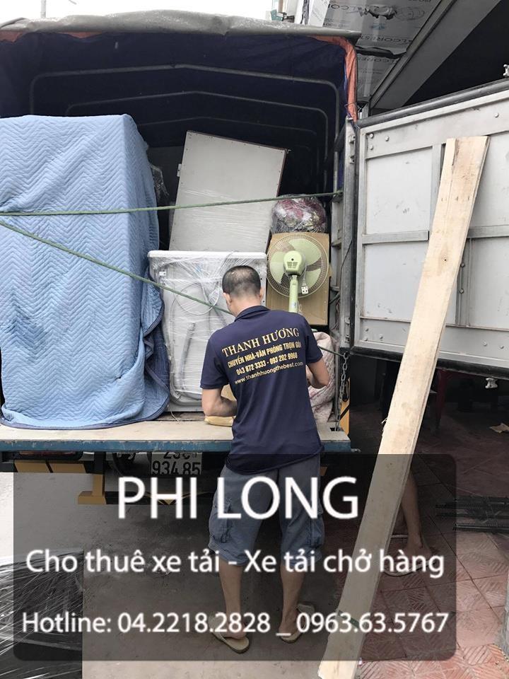 Taxi tải Phi Long cho thuê xe tải giá rẻ tại phố Núi Trúc