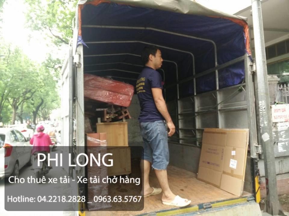 Cho thuê xe tải chở hàng giá rẻ tại phố Núi Trúc