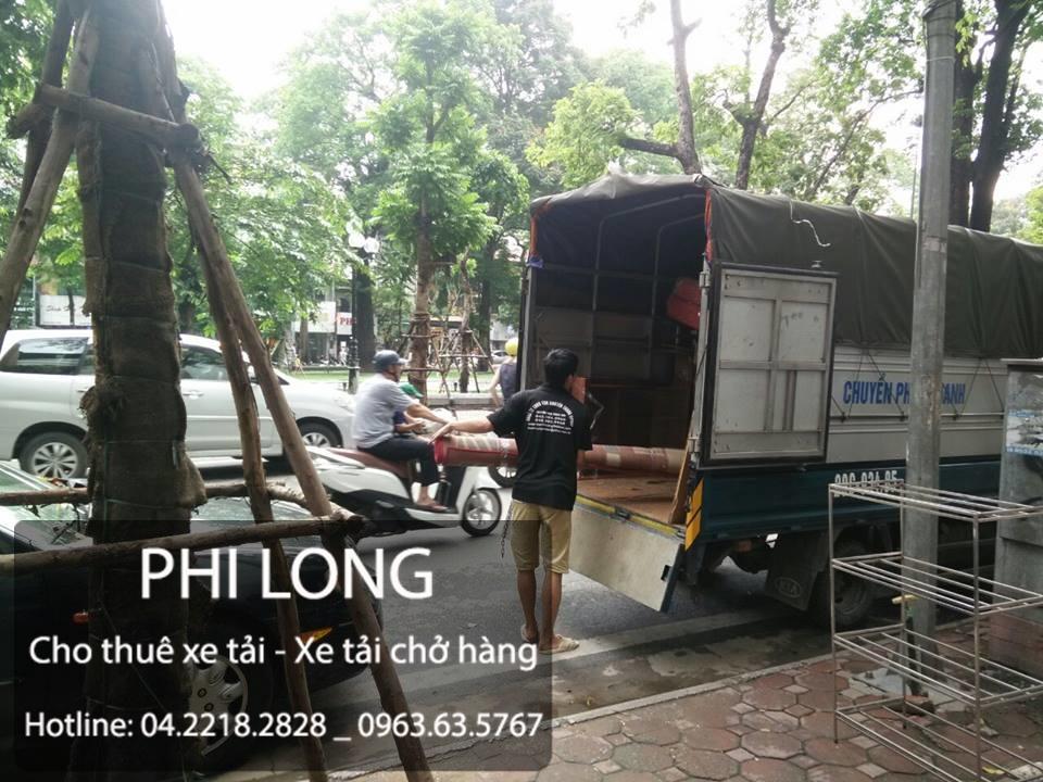 Cho thuê xe tải chuyên nghiệp tại phố Nguyễn Thái Học