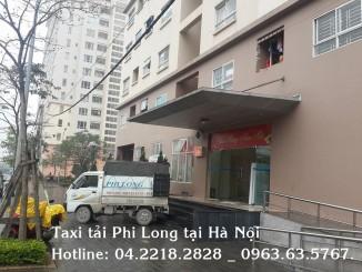 Cho thuê xe tải giá rẻ tại quận Long Biên của vận tải Phi Long