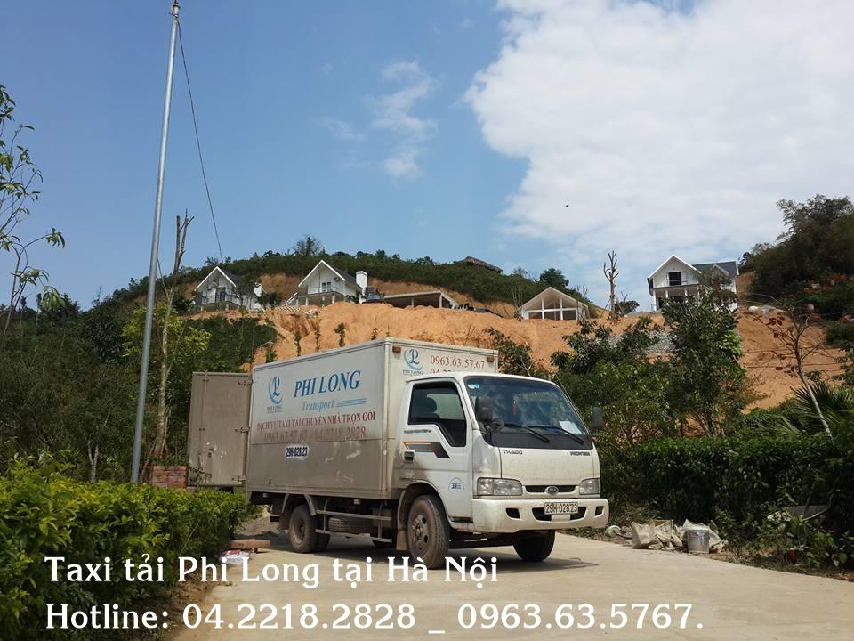 Cho thuê xe tải giá rẻ tại huyện Ba Vì vận tải Phi Long