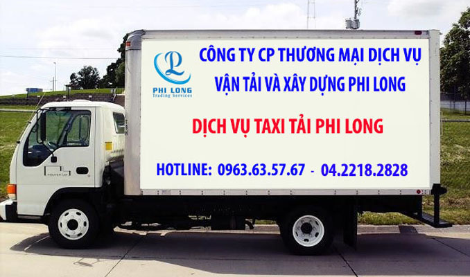 Cho thuê xe tải chuyển nhà trọn gói Phi Long tại đường Lương Thế Vinh