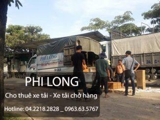 Dịch vụ cho thuê xe tải giá rẻ tại phố Nguyễn Tuân