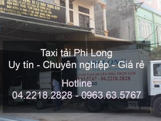 Dịch vụ cho thuê xe tải Phi Long tại huyện Phú Xuyên