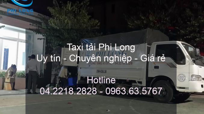 Phi Long cho thuê xe tải tại phố Nguyễn Hữu Thọ