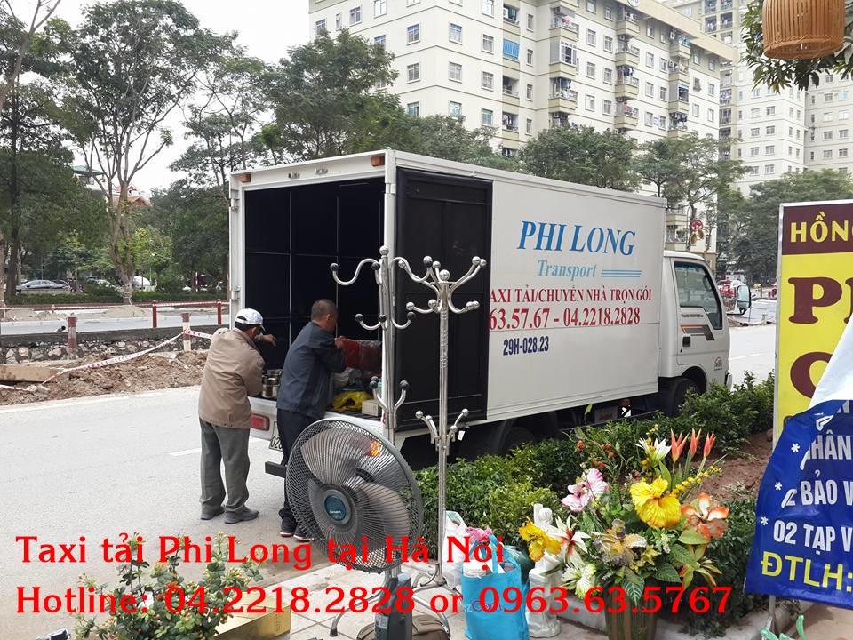 Cho thuê xe tải Phi Long chuyển nhà trọn gói