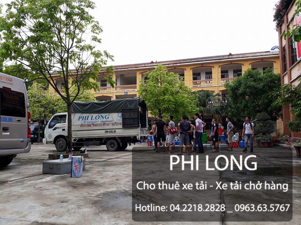 Cho thuê xe tải chở hàng giá rẻ tại phố Nguyễn Du