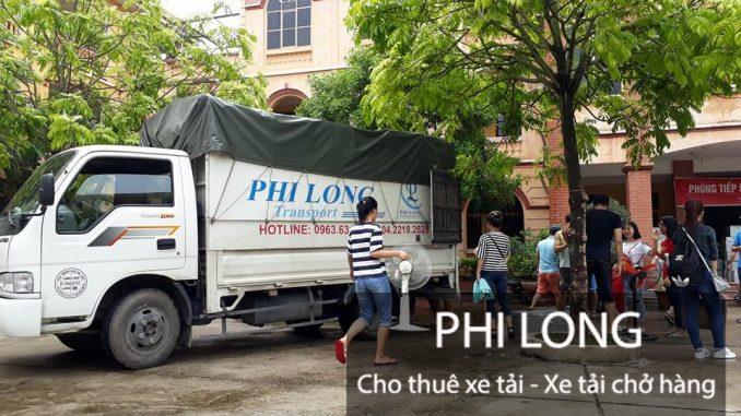 Phi Long dịch vụ cho thuê xe tải chở hàng giá rẻ tại phố Hàng Cháo