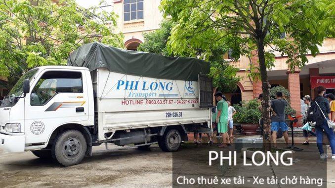 Taxi tải Phi Long cung cấp cho thuê xe tải tại phố Nguyễn Du