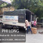 Phi Long cho thuê xe tải giá rẻ chuyên nghiệp tại phố Nguyễn Công Hoan
