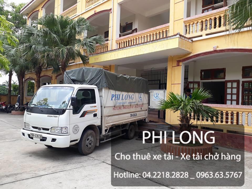 Phi Long cho thuê xe tải uy tín tại phố Nguyễn Thái Học