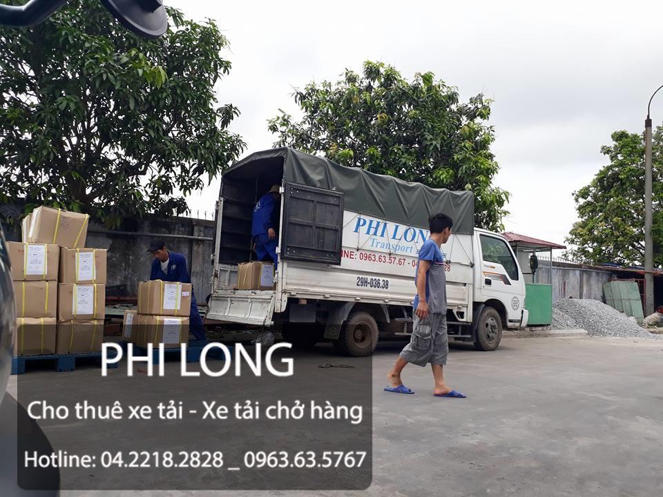 Cho thuê xe tải chở hàng giá rẻ tại phố Nguyễn Công Hoan