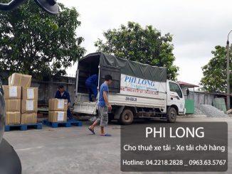 Cho thuê xe tải chở hàng giá rẻ tại phố Hàng Cháo