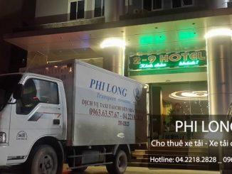 Dịch cụ cho thuê xe tải giá rẻ tại phố Nguyễn Thị Định