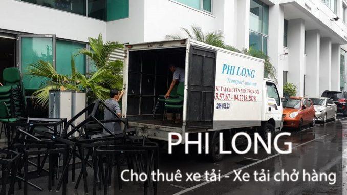Taxi tải Phi Long cho thuê xe tải giá rẻ chuyên nghiệp uy tín hàng đầu tại phố Hoàng Đạo Thúy