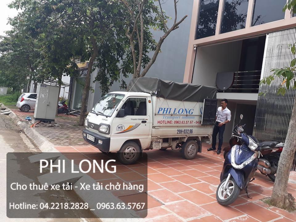 Dịch vụ cho thuê xe tải giá rẻ chuyên nghiệp tại phố Giảng Võ của công ty Phi Long