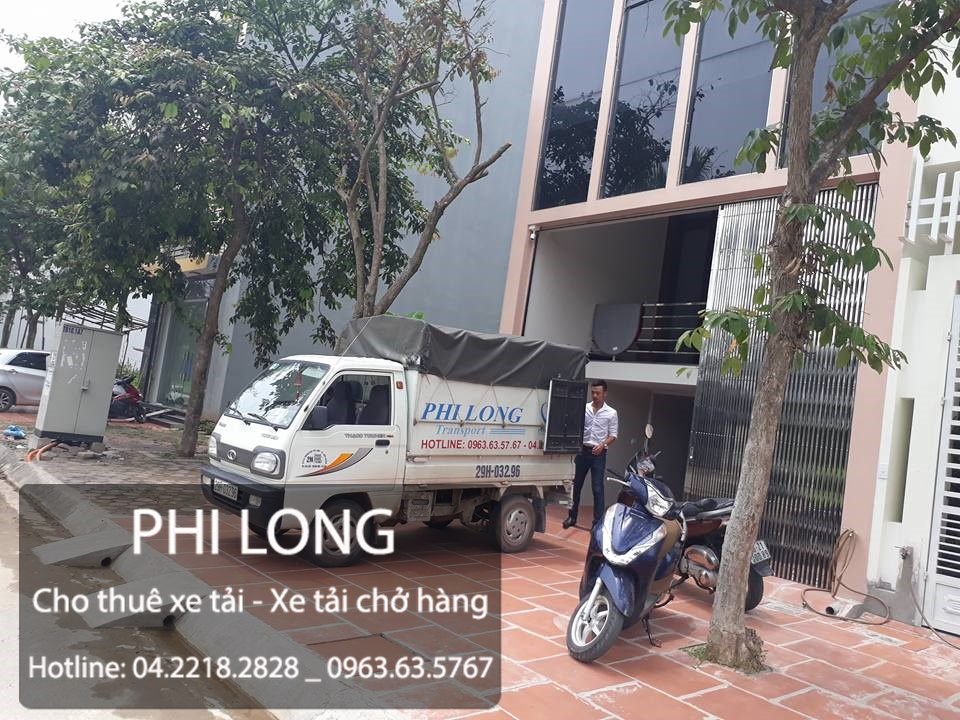 Cho thuê xe tải giá rẻ chuyên nghiệp uy tín hàng đầu tại phố Hoàng Đạo Thúy
