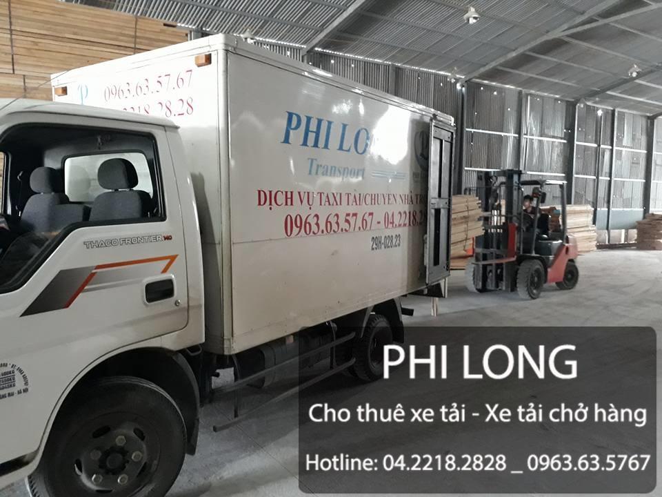 Cho thuê xe tải chở hàng tại phố Giảng Võ