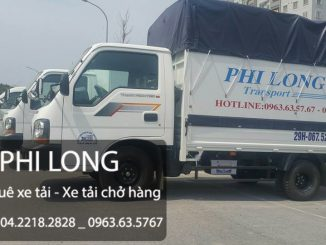 Dịch vụ cho thuê xe tải chuyển nhà giá rẻ tại phố Giang Văn Minh