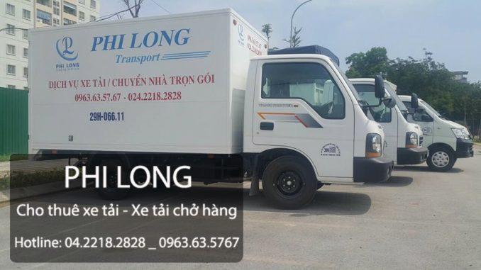 Dịch vụ cho thuê xe tải chở hàng Dịch vụ cho thuê xe tải tại phố Sơn Tây