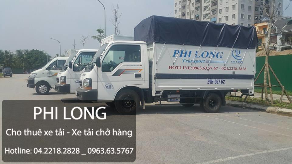 Cho thuê xe taxi tải chở hàng tại phố Hồng Mai - 0963.63.5767