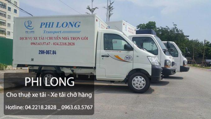 Taxi tải Phi Long hãng cho thuê xe tải lớn số 1 tại phố Tôn Đức Thắng