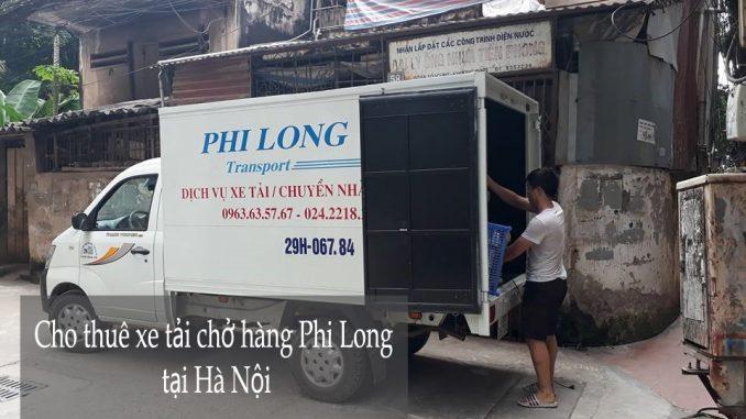Cho thuê taxi tải Phi Long tại phố Mai Phúc-0963.63.5767