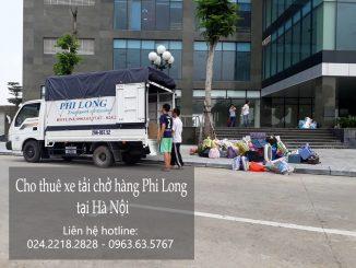 Dịch vụ cho thuê xe tải chở hàng giá rẻ chuyên nghiệp tại phố Hà Trung