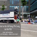 Dịch vụ cho thuê xe tải chở hàng tại phố Trần Phú