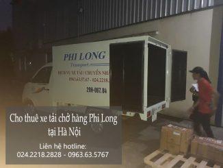 Dịch vụ cho thuê xe tải tại phố Vạn Hạnh
