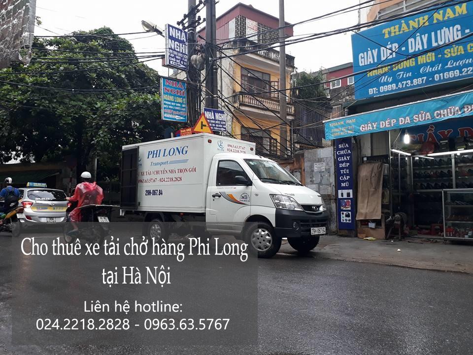 Dịch vụ vận chuyển hàng hóa tại phố Yên Nội
