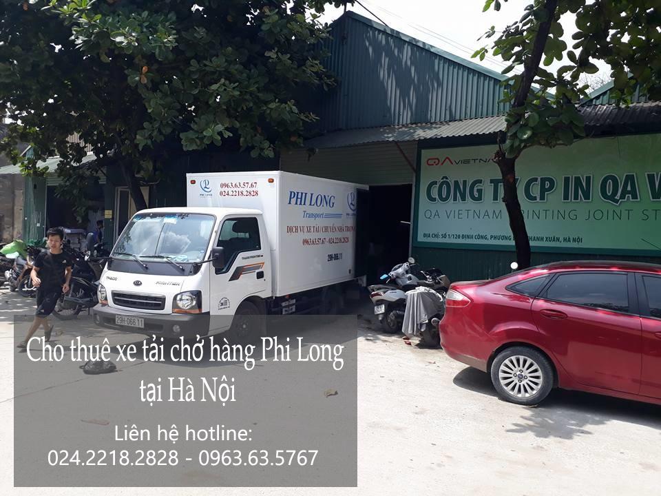 Cho thuê xe tải 1,4 tấn tại phố Phương Mai