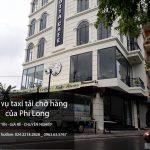 Taxi tải Phi Long hãng cho thuê xe tải giá rẻ tại phố Phan Văn Trị