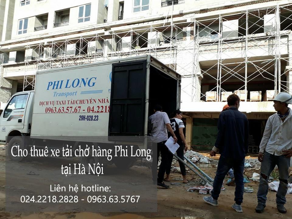 Dịch vụ cho thuê taxi tải Phi Long tại phố Chu Huy Mân-0963.63.5767