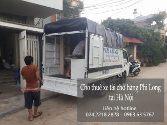 Cho thuê xe tải 5 tạ tại phố Trần Danh Tuyên-0963.63.5767