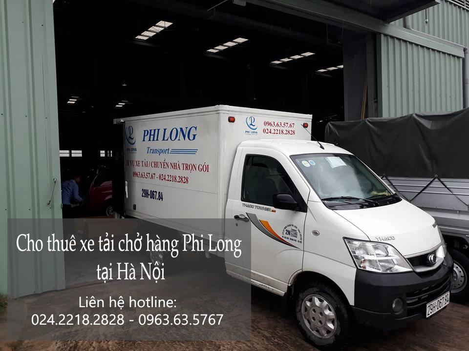Dịch vụ cho thuê xe tải giá rẻ tại phố Võ Chí Công