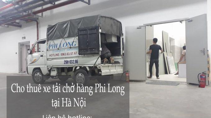 Dịch vụ cho thuê xe tải tại phố Vĩnh Hồ