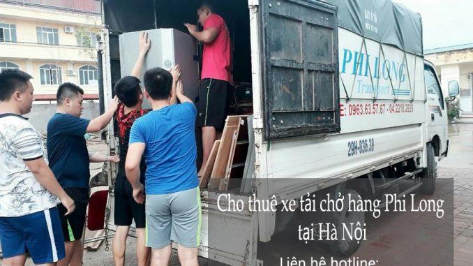 Cho thuê xe tải chở hàng chuyên nghiệp tại phố Nguyên Khiết