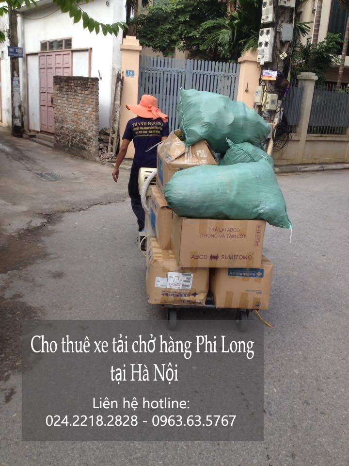 Cho thuê xe tải giá rẻ tại phố Đức Giang