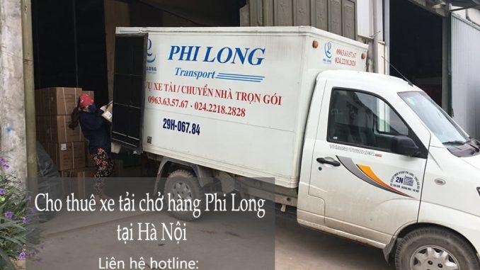 Cho thuê xe tải vận chuyển tại phố Phó Đức Chính