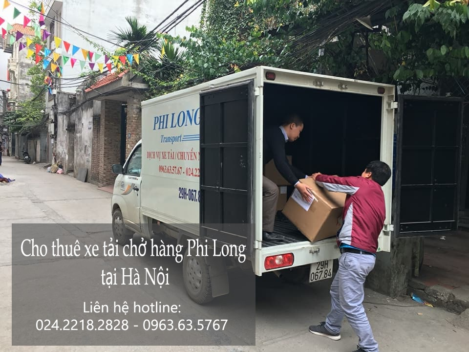 Cho thuê xe tải tại phố Trần Thủ Độ