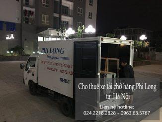 Dịch vụ cho thuê xe tải giá rẻ tại phố Yên Duyên
