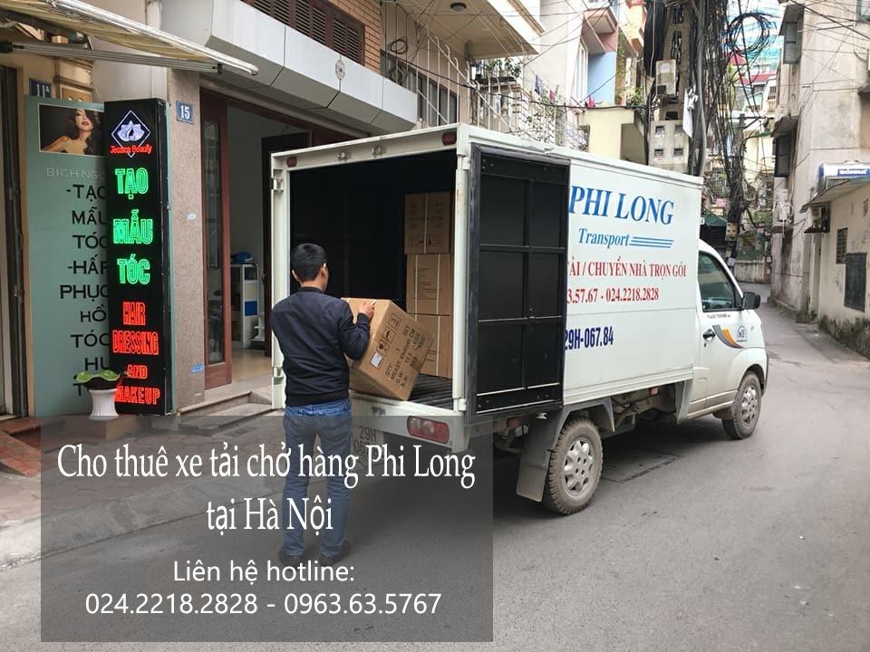 Dịch vụ cho thuê xe tải vận chuyển tại phố Nam Đồng