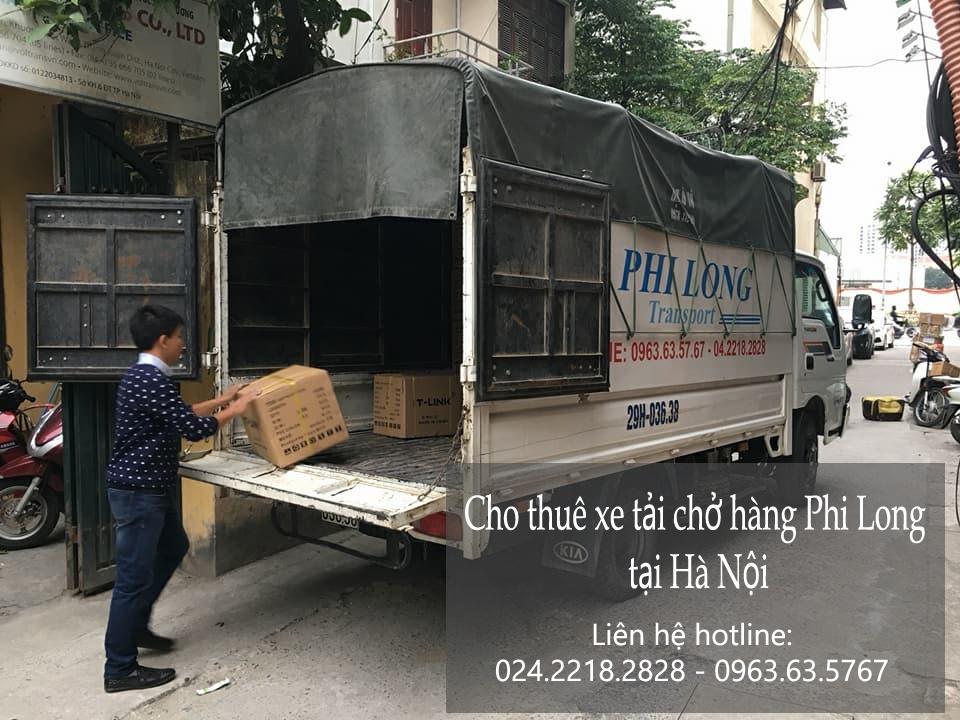 Dịch vụ cho thuê taxi tải tại phố Linh Lang