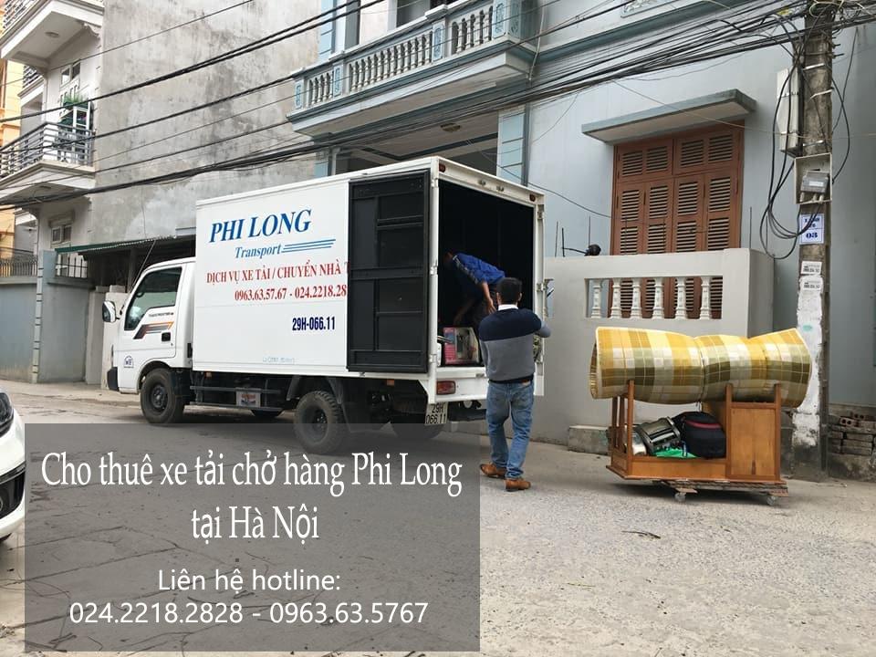 Cho thuê xe tải chở hàng giá rẻ tại phố Hội Xá