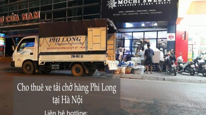 Taxi tải giá rẻ Phi Long tại khu đô thị Sài Đồng