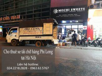 Dịch vụ cho thuê xe tải nhỏ tại phố Nguyễn Hữu Thọ