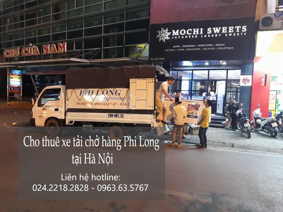 Dịch vụ cho thuê xe tải uy tín tại phố Đào Duy Anh