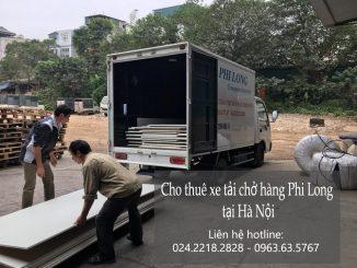 Cho thuê xe tải vận chuyển giá rẻ tại phố Đông Thiên