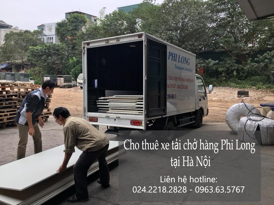 Dịch vụ taxi tải Phi Long tại phố Nguyễn Đình Hoàn